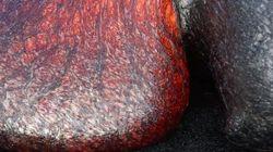 Así se mueve la lava: el vídeo que lo muestra desde muy cerca