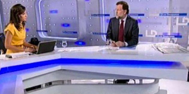 Entrevista a Rajoy en TVE: Debuta como presidente en televisión el próximo 10 de