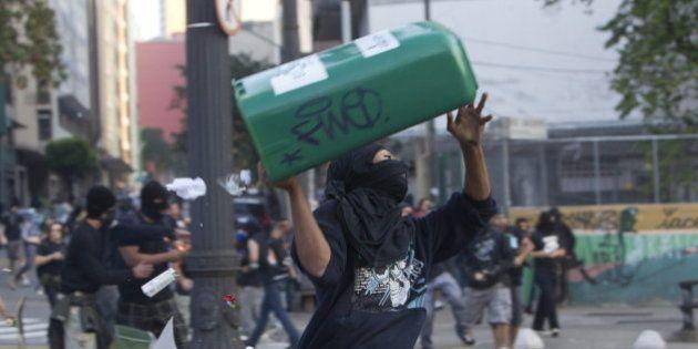 Más de 300 detenidos en Brasil en las protestas del Día de la
