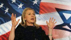 Clinton critica a Israel por construir asentamientos en
