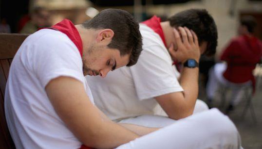 Dormir en sanfermines: cualquier sitio vale