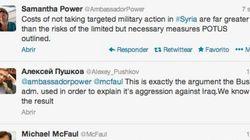 Rusia y EEUU discuten por Siria... a través de