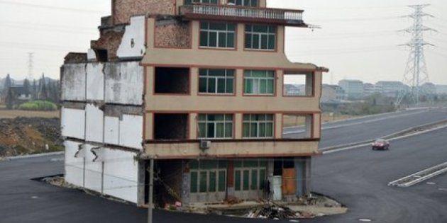 Demolida la casa que había resistido la construcción de una autopista en China