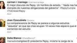 Aplausos y abucheos de los diputados a Rajoy en