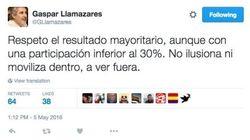 Llamazares, crítico con la baja participación de la consulta de IU:
