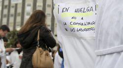 Segunda jornada de huelga sanitaria indefinida en