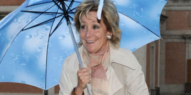 Esperanza Aguirre defiende privatizar la gestión de la Sanidad porque