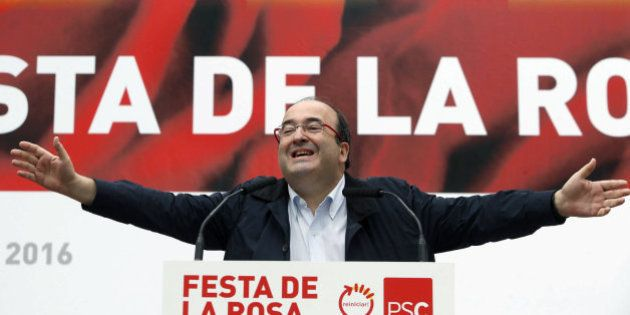 El enloquecido discurso de Miquel Iceta ante Pedro Sánchez:
