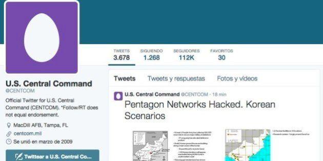 Hackean las cuentas del Mando Central del ejército de EEUU en Twitter y