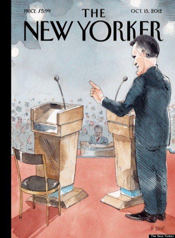 Obama fue una silla vacía durante el debate para 'The New