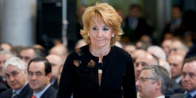 Esperanza Aguirre: Los partidos políticos han