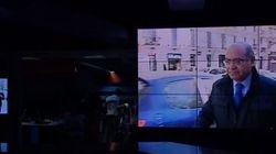 Telemadrid se va a 'negro' con una imagen de Díaz-Ferrán