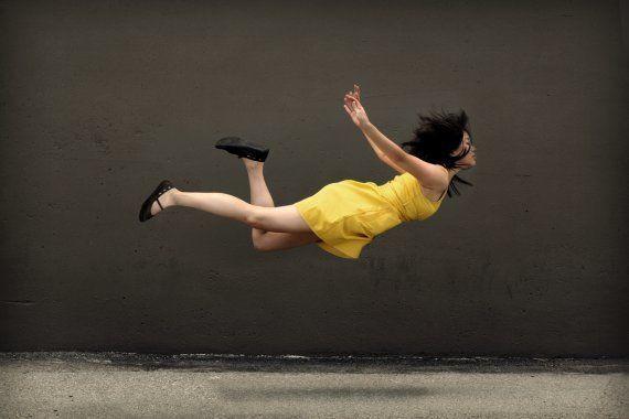 Cómo levitar en una fotografía (FOTOS,