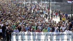 Miles de personas piden en San Sebastián la libertad inmediata de