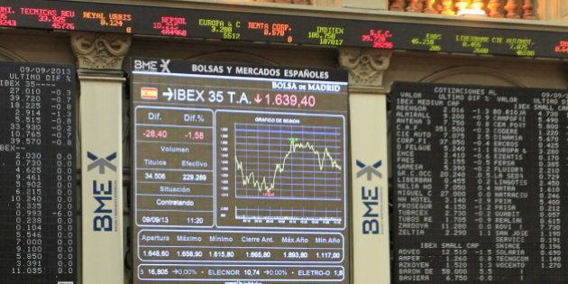 Madrid 2020: Las constructoras arrastran a la bolsa a las pérdidas por la decepción