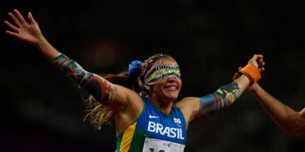 La atleta ciega más rápida del mundo: