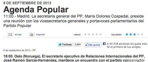 El PP no comparece ante los medios el primer lunes tras el fracaso de Madrid