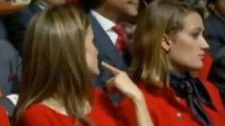 VÍDEO: Así mandó callar Letizia Ortiz a Jorge