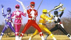 El nuevo aspecto de los Power Rangers revoluciona