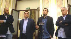 Policías denuncian a tres diputados de