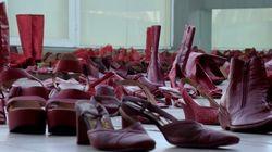 'Zapatos Rojos' contra la violencia de