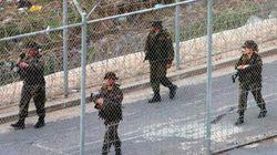 Unos 160 subsaharianos intentan saltar la valla entre Melilla y