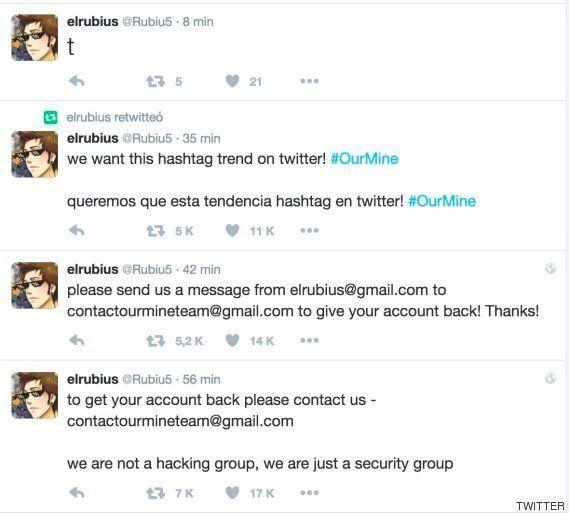 'Hackean' la cuenta de El Rubius, que llegó a estar cancelada unos
