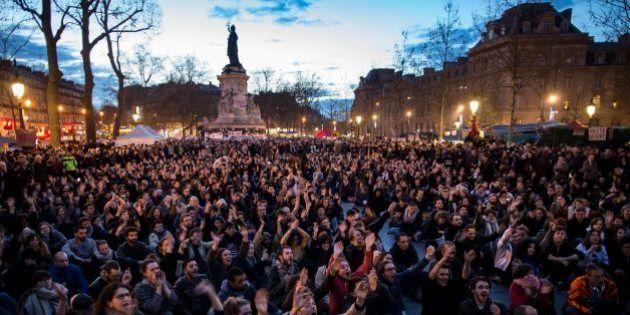 Nuit Debout: Los indignados franceses resisten a pesar de los