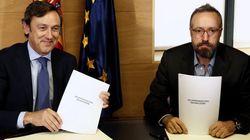 El pacto PP-C's: '150 compromisos para mejorar