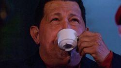 Conferencia de prensa de Chávez en la jornada de