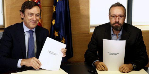 PP y Ciudadanos cierran el pacto de investidura de Mariano