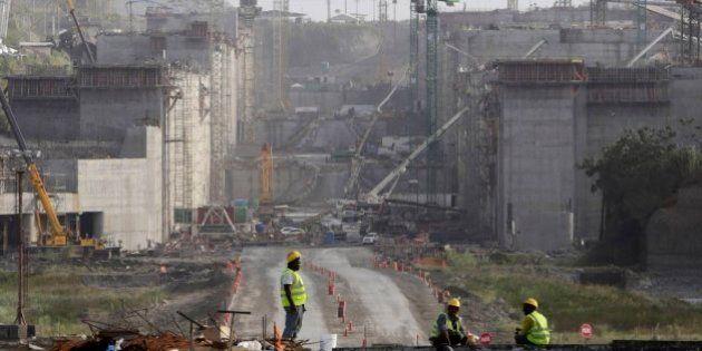 Sacyr pide 293 millones para continuar con las obras en el Canal de