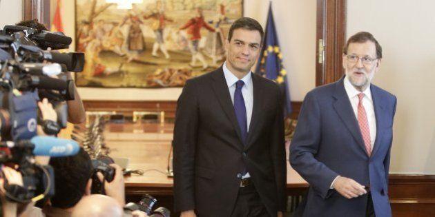 Rajoy se reunirá el lunes con Sánchez para pedirle su abstención en el debate de