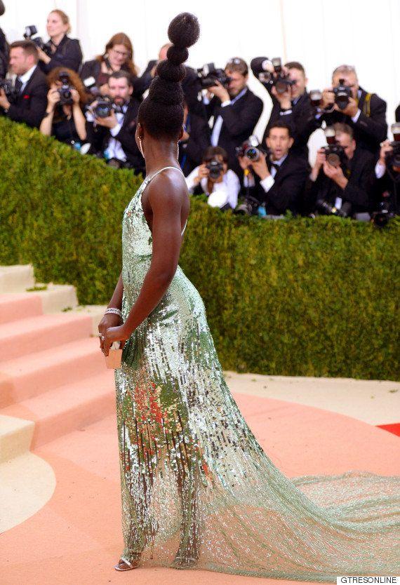 Lupita Nyong'o explica el porqué de su moño en la gala