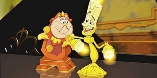Así son Lumiere y Ding Dong en imagen