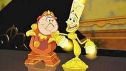 Así son Lumiere y Ding Dong en imagen real