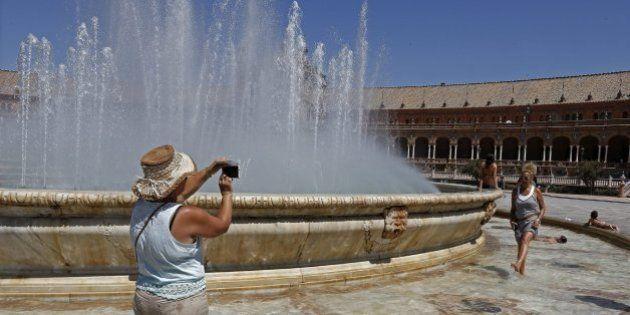 Las temperaturas superarán los 30º en casi todo el país este