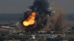Al menos 14 muertos, tres niños, en los bombardeos sobre