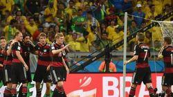 Alemania aplasta a Brasil