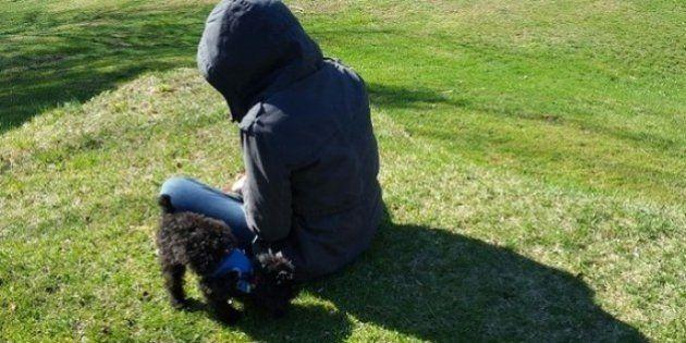 Cómo un cachorro ayudó a mi hija con su enfermedad