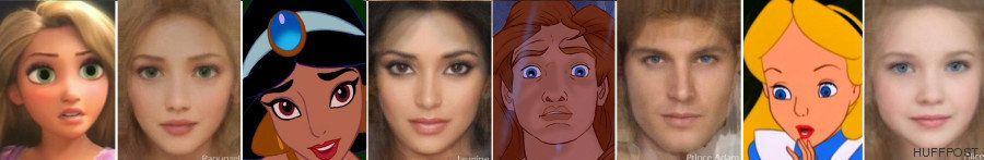 Princesas Disney hechas realidad: una artista las convierte en personas de carne y hueso