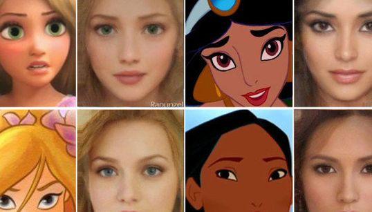 Princesas Disney hechas realidad: una artista las convierte en personajes de carne y hueso