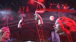 La inauguración de los juegos de Sochi en