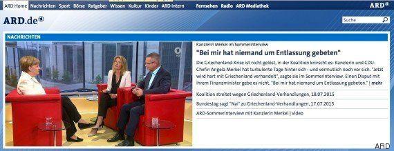 Merkel se muestra abierta a cambios en las condiciones de devolución de la deuda