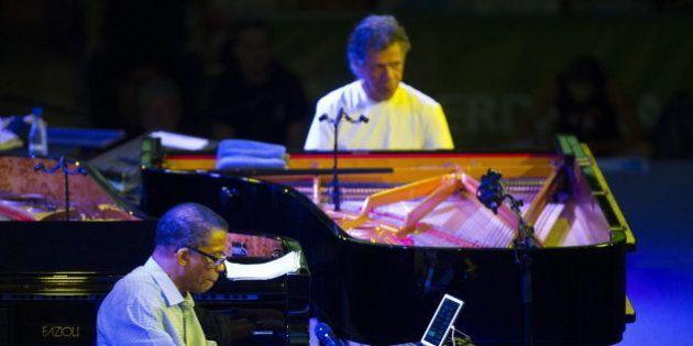 Chick Corea y Herbie Hancock deslumbran en el cierre del Festival de