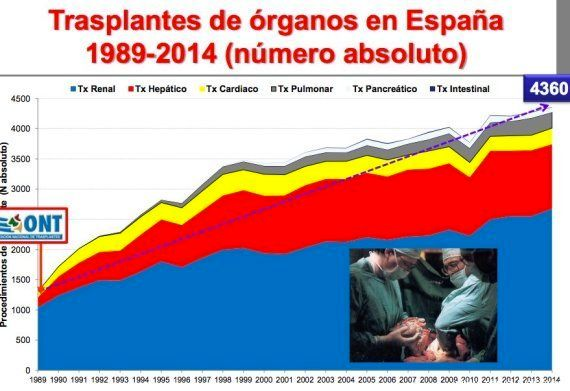 España, a la cabeza en donaciones, y otros 9 datos sobre los trasplantes en