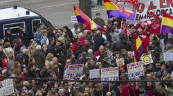 Protesta junto a los juzgados de Palma: