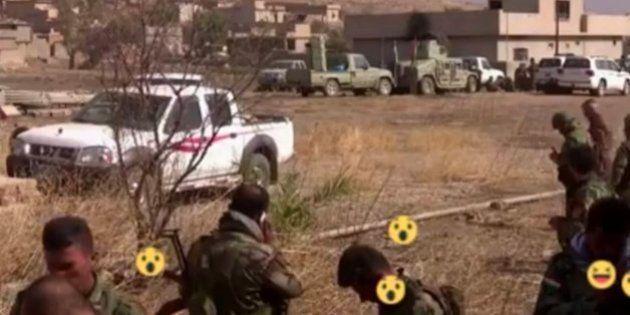 En tiempos de Facebook... Hasta la ofensiva en Mosul se transmite en