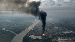 Dos muertos y dos desaparecidos en la explosión de una planta química en
