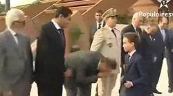 Apretones sí, besos no: la aversión del príncipe de Marruecos a los besuqueos de sus